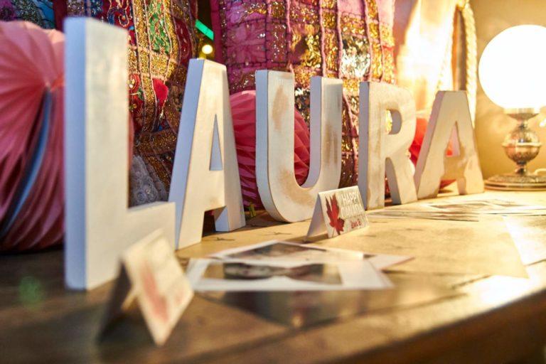 Benvinguda i aniversari Laura
